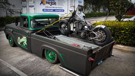 The Softail and the Hauler