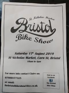 Bristol Bike Show - Saturday August 17th