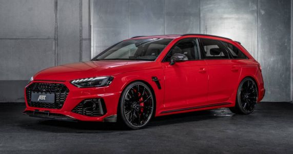 The Abt Sportsline RS4-S Is A 523bhp Carbon-Fest Wagon