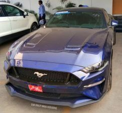 2019 Ford Mustang Spotted Once Again
