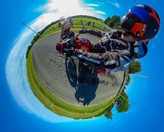 Ongoing 360° On-Bike Photography