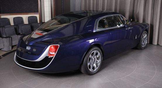 $13 Million Rolls-Royce Sweptail Drops By Abu Dhabi Showroom For Photo Op