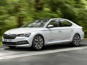 Skoda Superb Facelift Carmakers First PHEV Unveiled