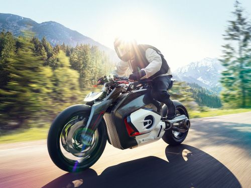 BMW Vision DC Roadster Electric Motorcycle Prototype