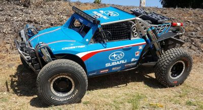 There's A Subaru Crosstrek Somewhere Inside This Baja Racing Buggy
