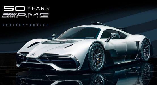 Mercedes-AMG Project One Gets A New Nose In Latest Rendering