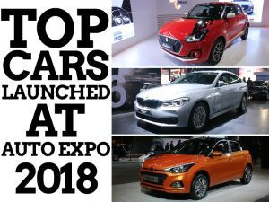 Top Car Launches At Auto Expo 2018 - New Swift Elite i20 Steal The Show