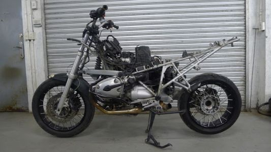 BCR's 2002 BMW R1200 GS Urban Assault Scrambler Build