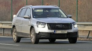 Skoda Kamiq All New Creta Rival Spied Testing in Europe