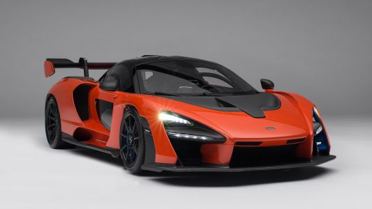 This McLaren Senna 1:8 Scale Model Costs R186k