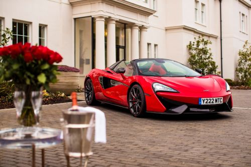 McLaren 570S Spider Is The Ultimate Valentine's Day Gift