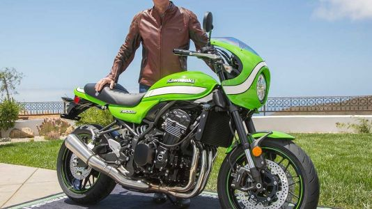 2018 Kawasaki Z900RS Cafe Unveil With Eddie Lawson