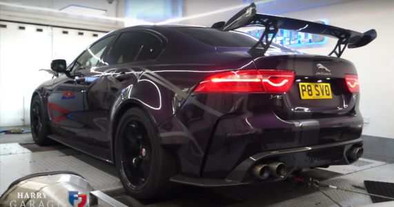 Here's A Jaguar XE Project 8 Making More Power Than Advertised