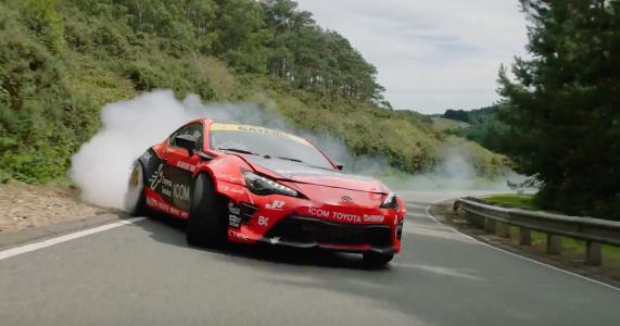 Watch Fredric Aasbo Drift The Hell Out Of An Alpine Test Track