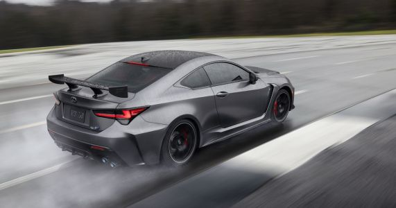 The New Lexus RC F Has A Lighter, Aero-Clad Track Edition