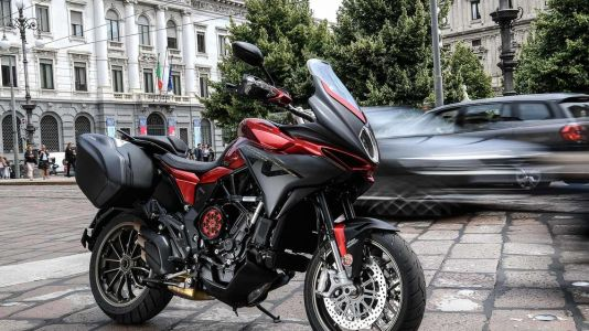 Touring Italy On MV Agusta's 2019 Turismo Veloce 800 Lusso SCS