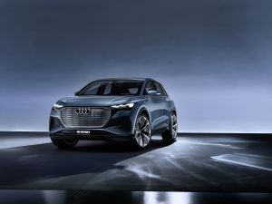 Audis Q4 e-tron Concept Revealed Has A Range Of Over 450km