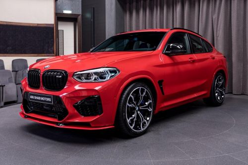 AC Schnitzer BMW X4 M Competition Looks The Business In Toronto Red