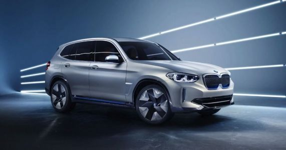 BMW's 270bhp, 249-Mile E-SUV Concept Looks Weirdly Familiar