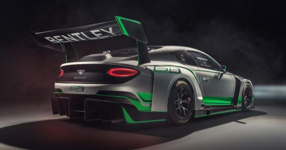 The New Bentley Continental GT3 Is A Classy Thug Of A Racing Car