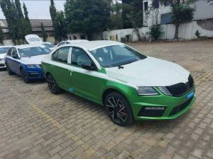 Skoda Octavia RS245 Spotted In Dealerships Ahead Of Rollout In India Later This Year