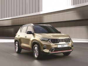 2021 Kia Sonet Launched At Rs 679 Lakh Gets New Logo Additional Features And Variant Rejig