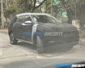 Hyundai Creta 7-seater Spied Testing In India Again Sports Different Alloy Wheels