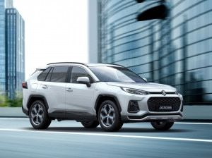 Suzuki Across Based On Toyota RAV-4 Revealed Perfect Honda CR-V Hyundai Tucson Rival