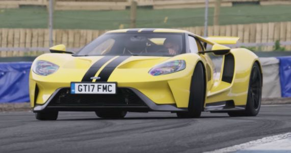 Watch Chris Harris Throw Some Shapes In The Brilliantly Geeky Ford GT