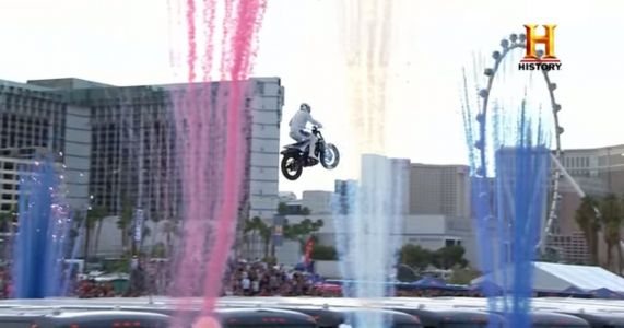 Travis Pastrana Just Broke Three Insane Evel Knievel Jump Records
