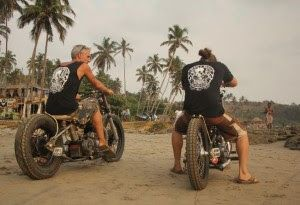 Rag & Bone Customs, and the custom Royal Enfields of Goa
