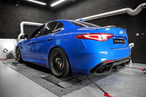 This Alfa Romeo Giulia Quadrifoglio Packs A Whopping 670 HP