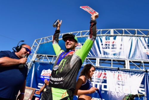 MONSTER ENERGY® KAWASAKI RIDER ELI TOMAC SWEEPS HANGTOWN MOTOCROSS CLASSIC
