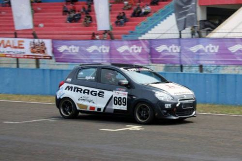 People are Racing the Mitsubishi Mirage in Indonesia and Thailand