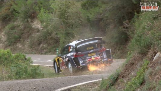 WRC Catalunya Footage Is Mind-Boggling To Watch