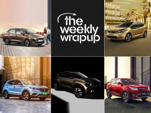 Top 5 Car News Of The Week Hyundai Aura Tata Altroz BS6 Cars MG ZS EV Launched Kia QYI Concept Teased