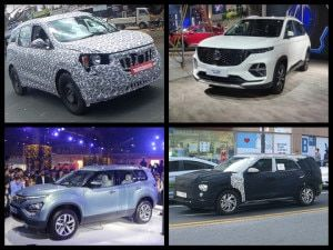 Top 7-Seater SUVs Launches In India Post Lockdown MG Hector Plus Tata Gravitas 2021 Mahindra XUV500 And More