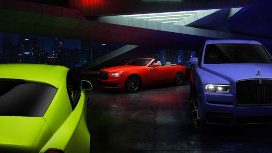 Rolls-Royce Black Badge Models Get Neon Paint Offering