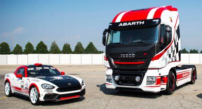 Iveco Stralis Looks Pretty Hot In Abarth Spec
