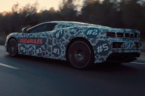 McLaren Grand Tourer Coming This Year