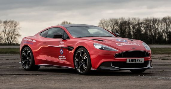 Time Is Almost Up To Win A £275,000 Ultra-Rare Aston Martin Vanquish S