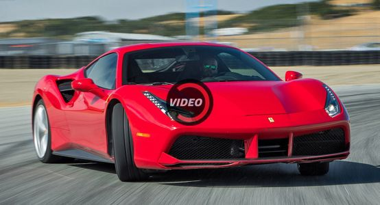 Ferrari 488 GTB Is 2017 Best Driver's Car, According to Motor Trend