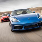 Audi TT RS vs. Porsche 718 Cayman S - Comparison Tests