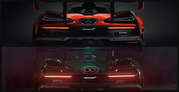The Two Different McLaren Senna Exhausts Explained