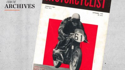 Motorcyclist Archives 1959: Turbo BMW, Parilla, and Gilera Motorcycles