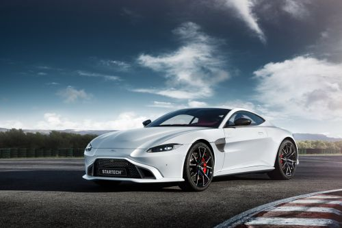Aston Martin Vantage Given Power Boost and New Style by Startech