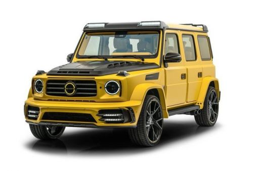 Mansory Reveal Ridiculous Bumblebee-Spec Mercedes-AMG G63