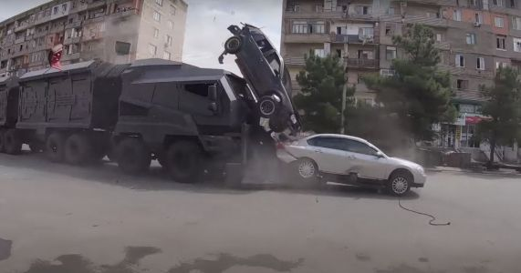 Watch How Some Of F9's Most Ridiculous Car Crashes Were Filmed For Real