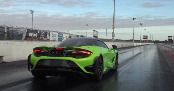 Watch A Stock McLaren 765LT Smash Out A 9.41sec Quarter-Mile