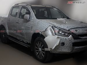 Exclusive Isuzu D-Max V-Cross 19 4x4 AT Spied Launch Soon